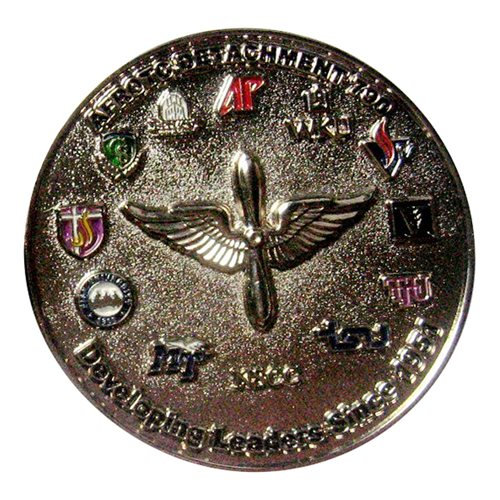AFROTC Det 790 Tennessee State University Coin