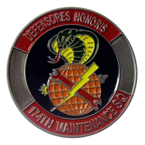 174 MXS Challenge Coin - View 2
