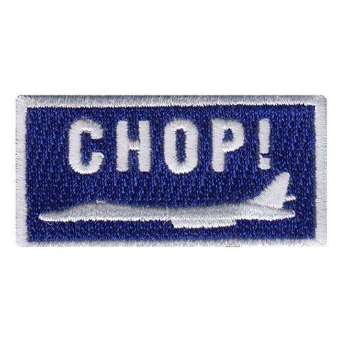 28 BS B-1B Chop Pencil Patch
