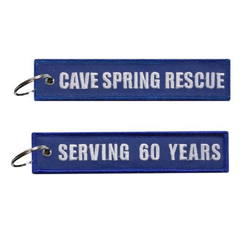 Cave Spring Rescue Squad Key Flag