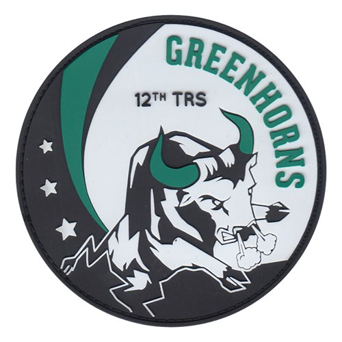 12 RS Squadron Greenhorns Patch