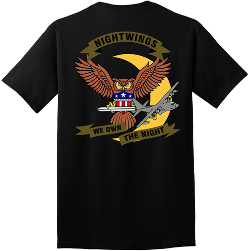 9th SOS Squadron Black Shirts