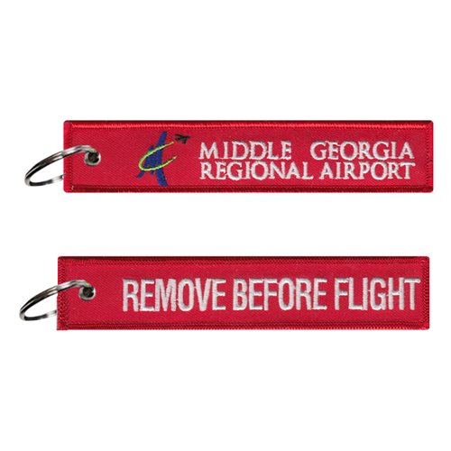 Middle Georgia Regional Airport Key Flag
