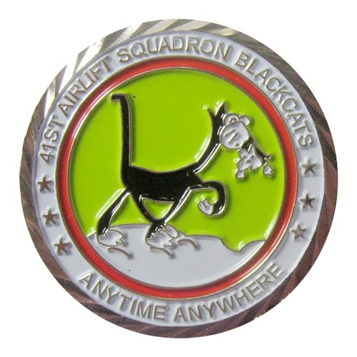 41 AS Custom Air Force Challenge Coin