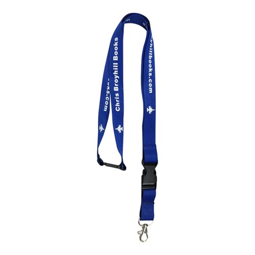 Christopher Broyhill Books Lanyard
