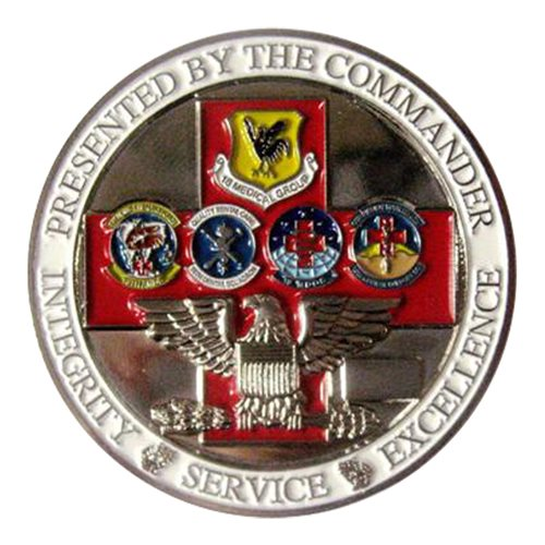 18 MDG Commander Challenge Coin - View 2