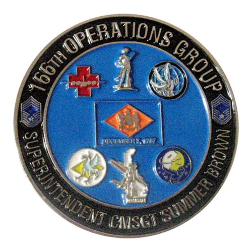 166 OG Commander Challenge Coin - View 2