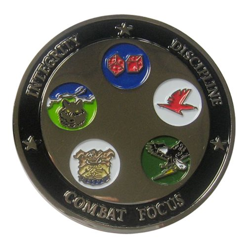 3 OG Custom Air Force Challenge Coin - View 2