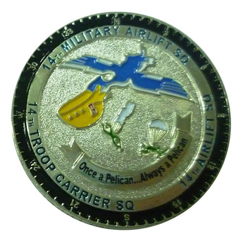 14 AS Custom Air Force Challenge Coin - View 2