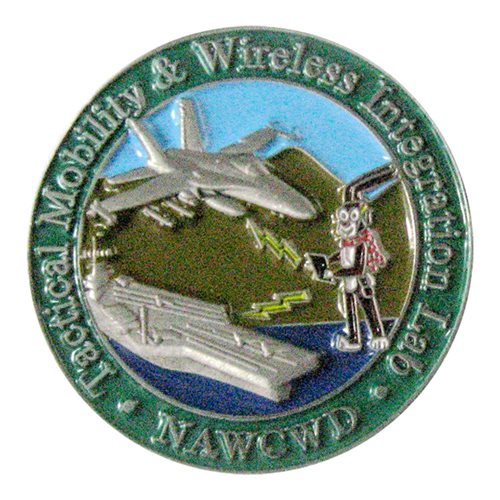 NAWCWD Challenge Coin