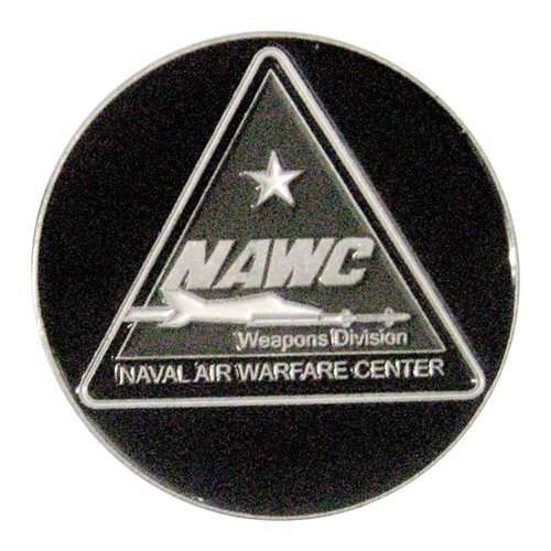 NAWCWD Challenge Coin - View 2