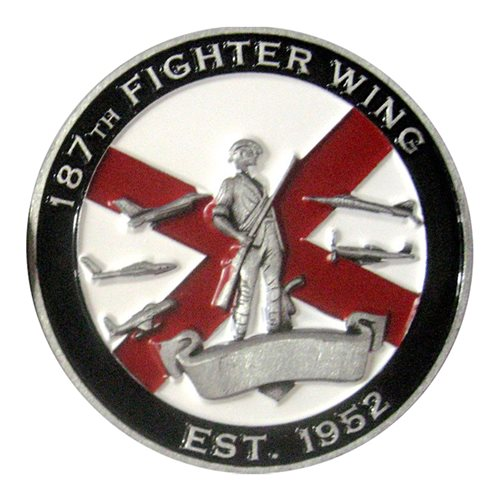 187 FW Challenge Coin - View 2