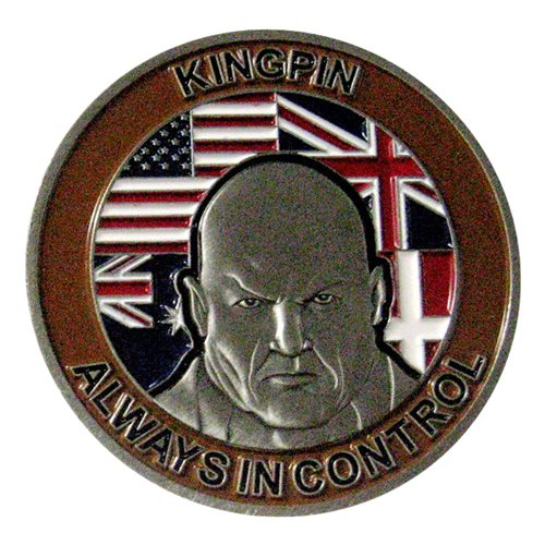 727 EACS Kingpin Challenge Coin - View 2