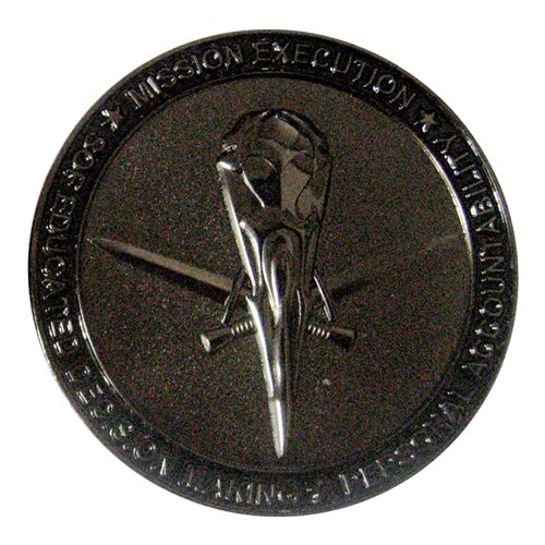 353 SOSS Challenge Coin  - View 2