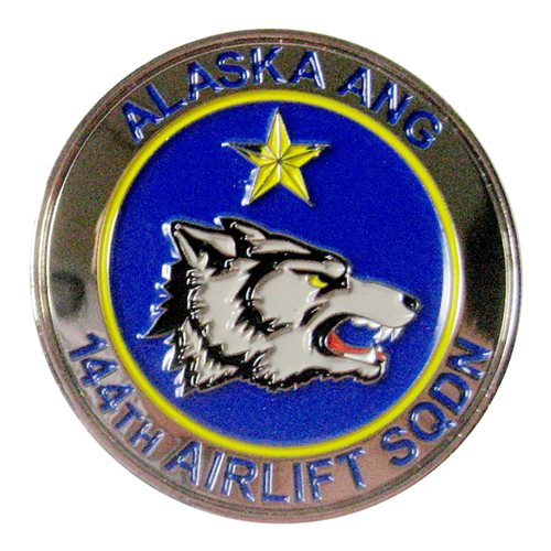 144 AS C-17 Challenge Coin