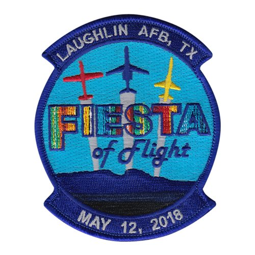 Laughlin AFB Fiesta of Flight 2018 Patch