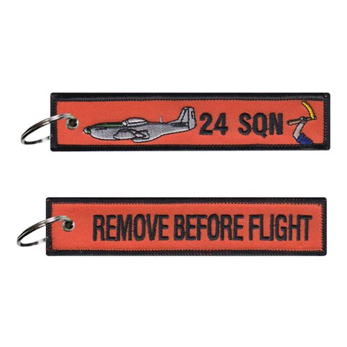 RAAF 24 SQN Key Flag