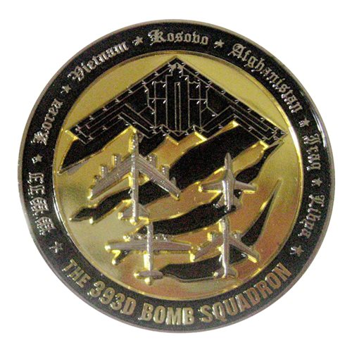 393 BS Challenge Coin - View 2
