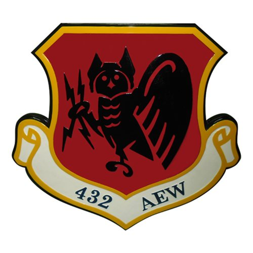 432 AEW Custom Plaque  - View 2