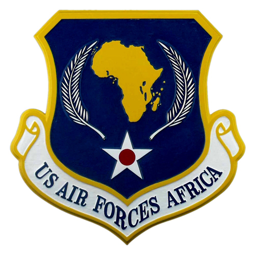 US Air Forces Africa Custom Wall Plaque