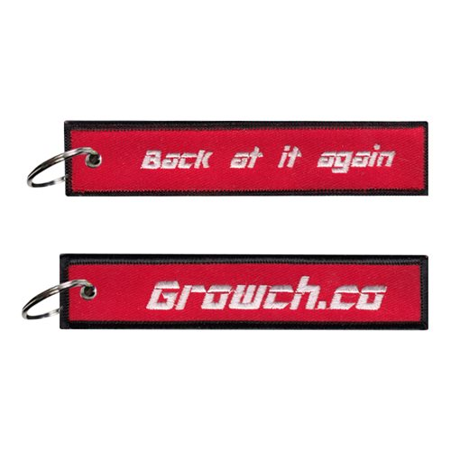 Growch Co Key Flag