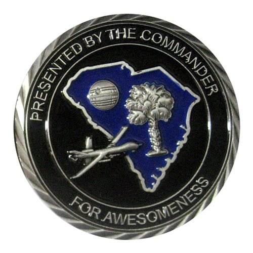482 ATKS MQ-9 Challenge Coin - View 2