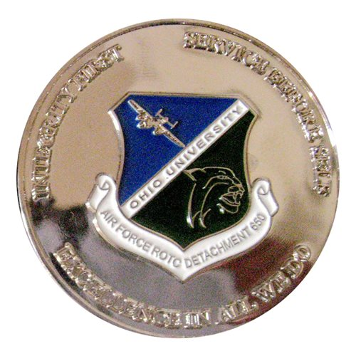 AFROTC Det 650 Ohio University Challenge Coin - View 2
