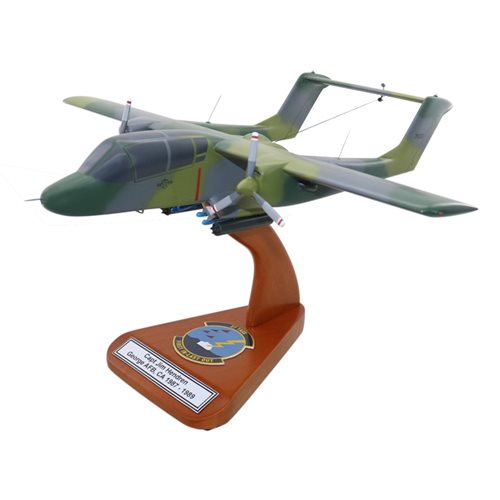 Design Your Own OV-10A Bronco Custom Airplane Model