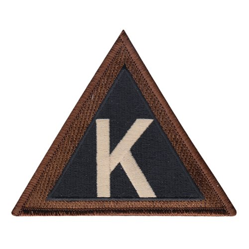 379 AEW Triangle K Patch
