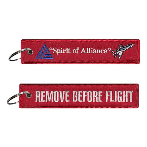 Spirit of Alliance Key Flag
