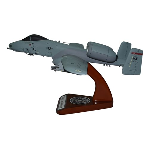 Design Your Own A-10 Thunderbolt II Custom Airplane Model - View 3