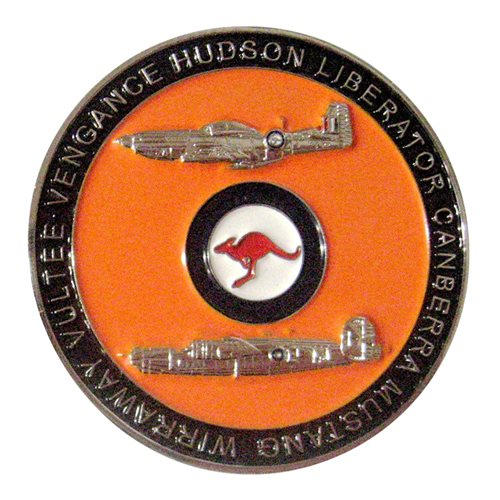 No 24 Squadron RAAF Challenge Coin - View 2