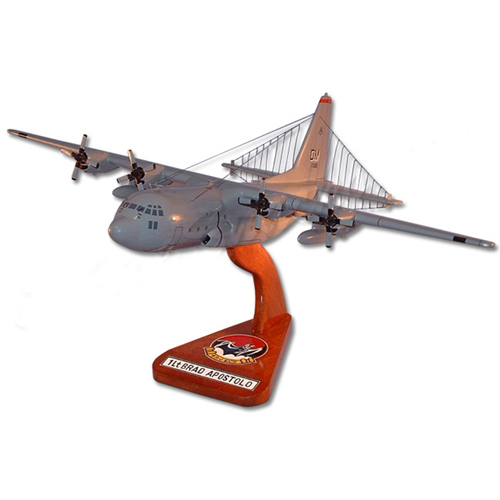 43 ECS EC-130H Compass Call Custom Airplane Model