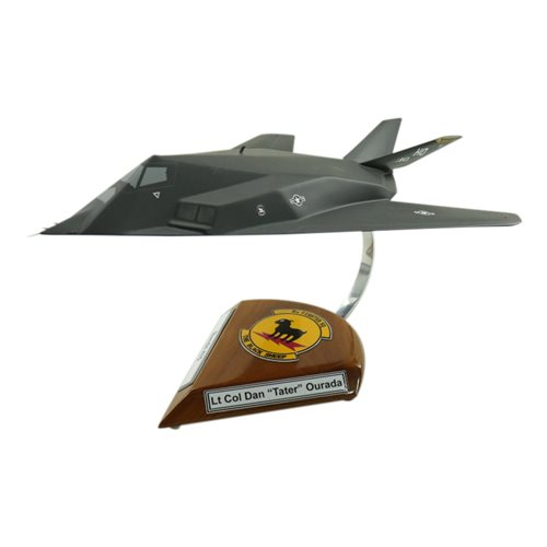 8 FS F-117 Nighthawk Custom Aircraft Model  - View 2
