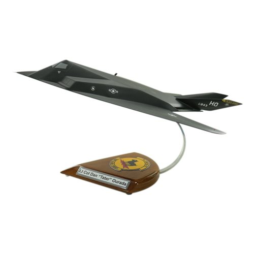 8 FS F-117 Nighthawk Custom Aircraft Model  - View 3