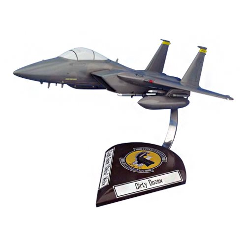 12 FS F-15C Custom Airplane Model