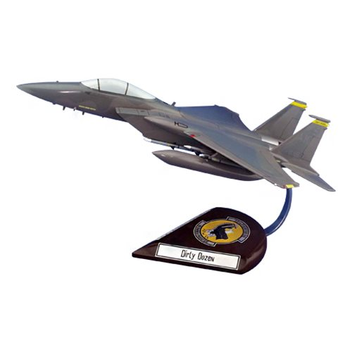 12 FS F-15C Custom Airplane Model  - View 2