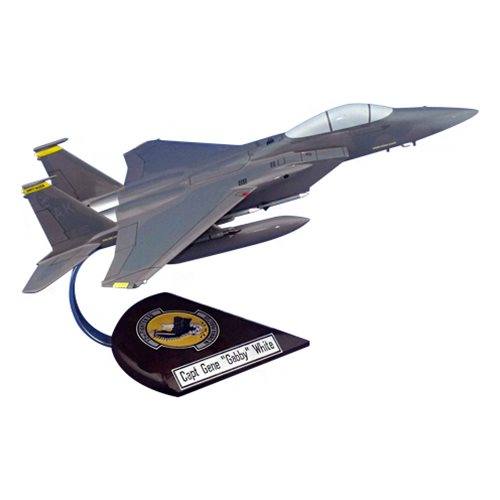 12 FS F-15C Custom Airplane Model  - View 4