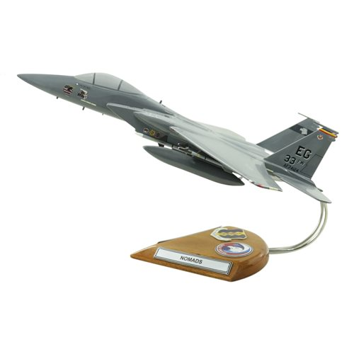 Design Your Own F-15C Eagle Custom Airplane Model - View 3