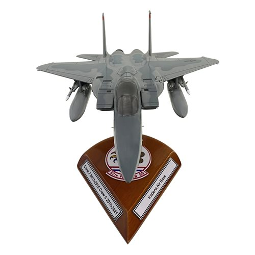 Design Your Own F-15C Eagle Custom Airplane Model - View 4