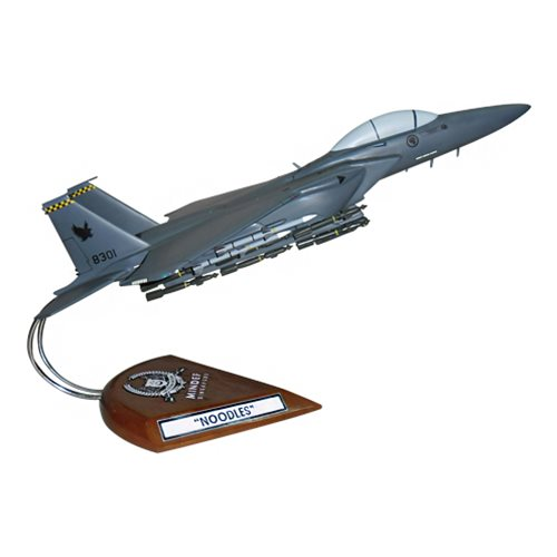 334 FS F-15E Custom Airplane Model  - View 4