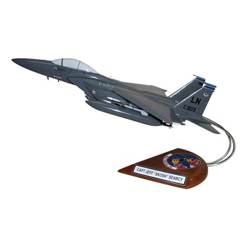 492 FS F-15E Custom Airplane Model