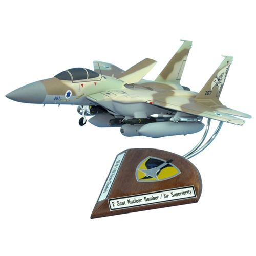 IAF F-15I Custom Airplane Model