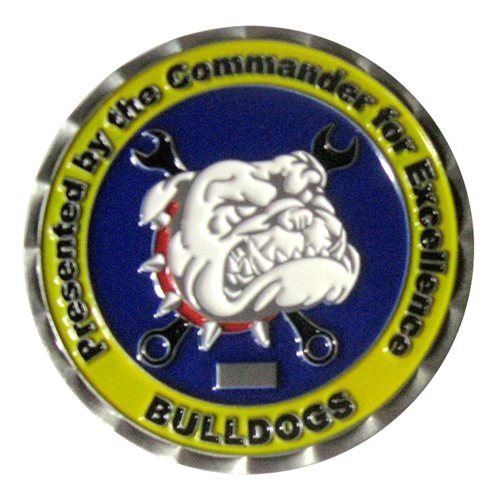 9 AMXS Commander Challenge Coin - View 2