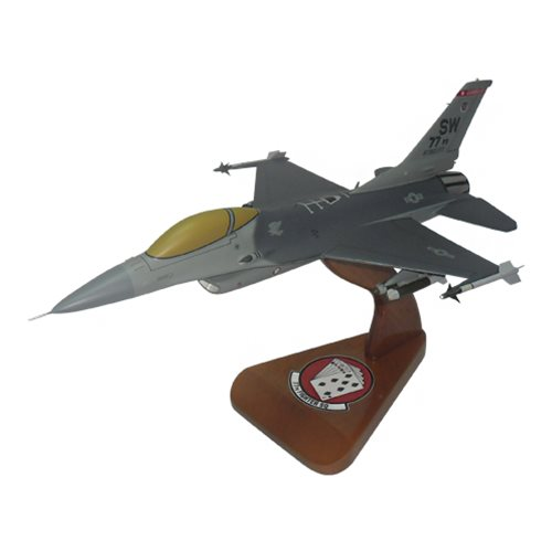 77 FS F-16C Custom Aircraft Model