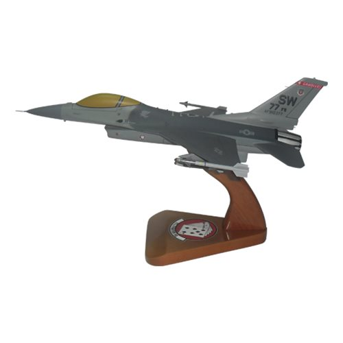 77 FS F-16C Custom Aircraft Model  - View 2