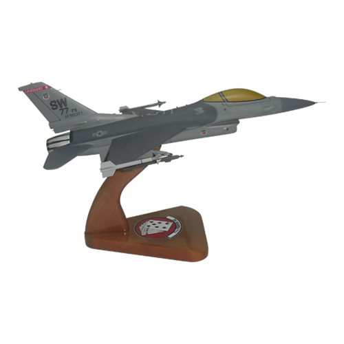77 FS F-16C Custom Aircraft Model  - View 4
