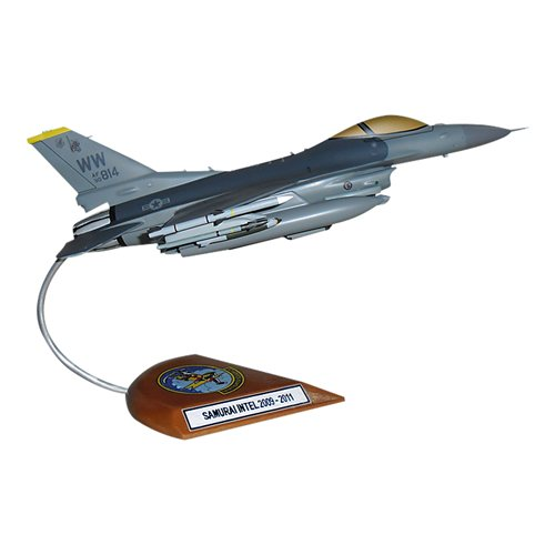 14 FS F-16C Custom Aircraft Model  - View 3