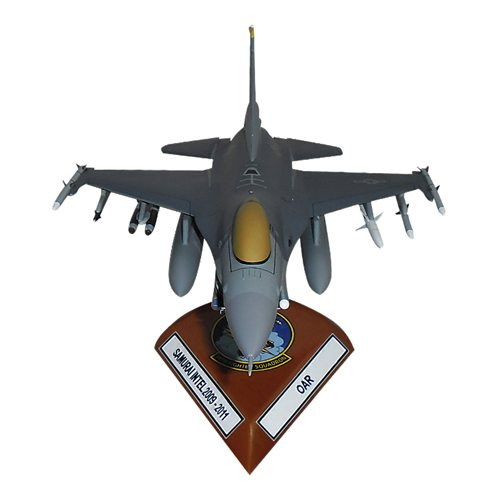 14 FS F-16C Custom Aircraft Model  - View 4
