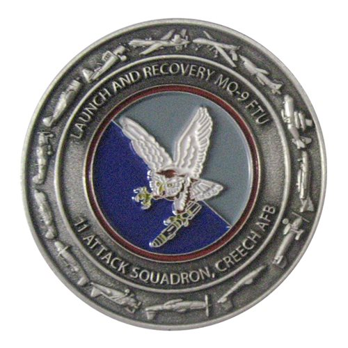 11 ATKS Challenge Coin